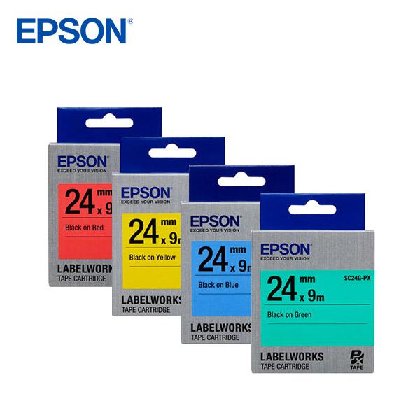EPSON [정품]엡손 라벨테이프 9mm 다이모/라벨기