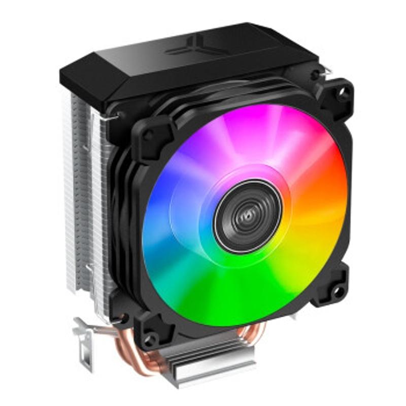 [해외] 공냉쿨러 가성비쿨러 무소음쿨러 저소음쿨러 JONSBO CR-1100 핑크 버전 타워 CPU 쿨러6개의 히트 파이프5V ARGB 조명 효과마더보드 동기화온도 제어 듀얼 팬실리콘  {