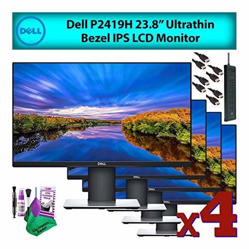 [해외] Dell 24 Inch (P2419H) 16:9 Ultrathin Bezel IPS LCD Computer Mo/190936  상세내용참조