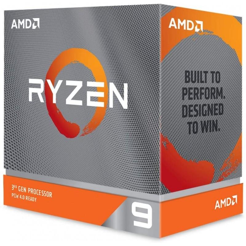 [해외] AMD Ryzen 9 3900XT 12코어 24Treads Unlocked Desktop Processor:  단일옵션