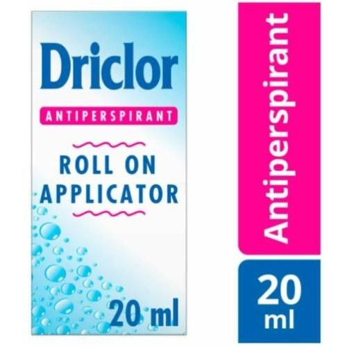 [해외] 드리클로 롤온 데오드란트 20ml / Driclor Roll on Applicator 20ml  {용량:롤온 20ml}