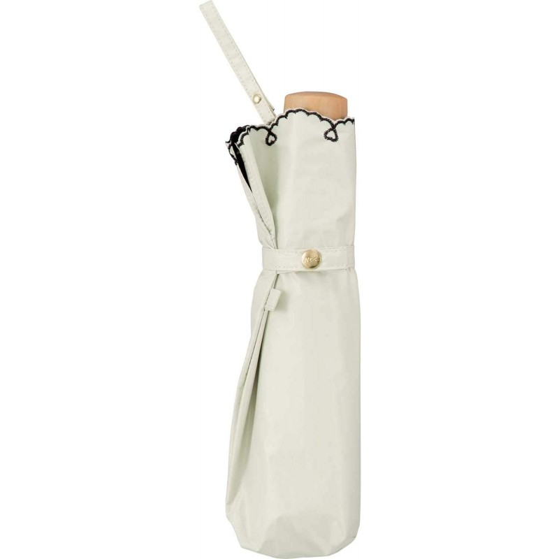 [해외] 월드 파티(Wpc.)양산 접는 우산 레이디스 산대부 차광 경량 하트 스카랏프 50cm801-2448OF흰색 사이즈:25