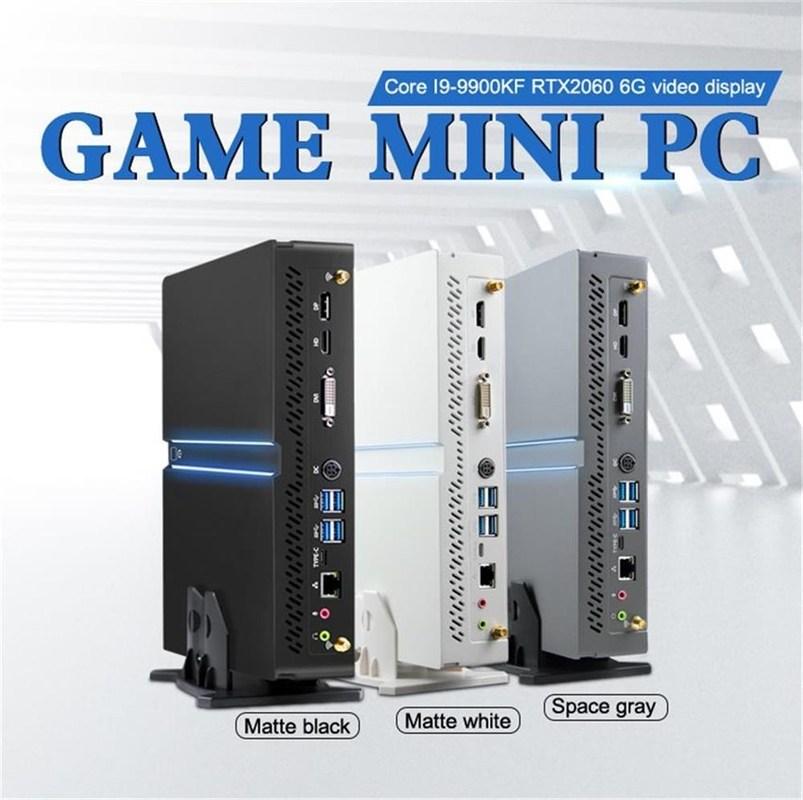 [해외] 미니 소형 컴퓨터 본체 슬림 pc 인싸컴 완본체 초미니 2021 게임용 데스크탑 PC  {색상:RAM 없음 저장 공간 없음}  {묶음:I5-9600KF GTX1060 3G}
