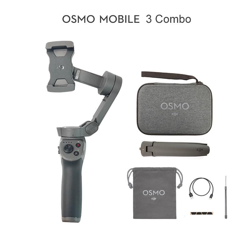 [해외] 짐벌 DJI Osmo Mobile 3/Osmo 3 Combo는 지능형 기능을 갖춘 스마트폰용 접이식 짐벌이다핸드헬드 짐벌  01 Osmo Mobile 3
