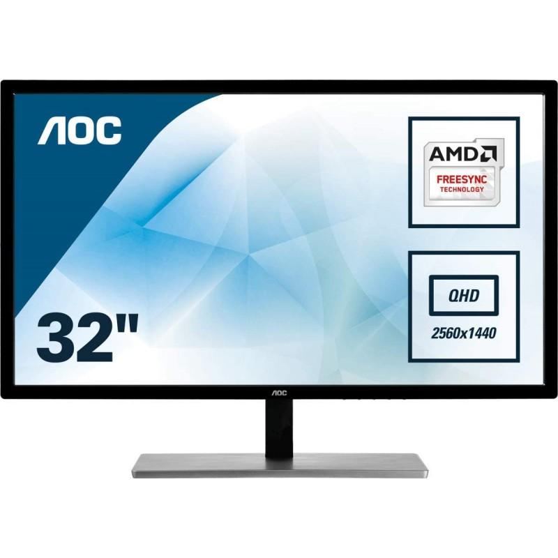 [해외] AOC Q3279VWF 80 cm (31 5 Zoll) Quad HD Computerbildschirme (MVA Panel 2560 x 1440 Pixel Quad HD