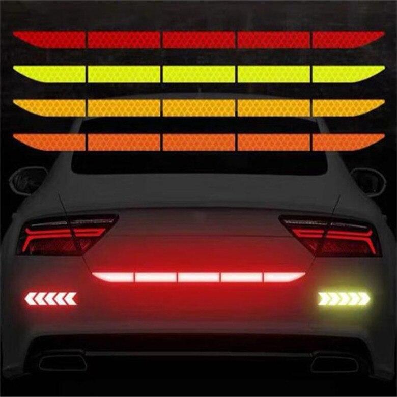 [해외] 5pc 자동차 스타일링 자동차 트렁크 반사 스티커 액세서리 미니 쿠퍼 R52 R53 R55 R56 R58 R59 R60 R61 Paceman Countryman|Reflecti