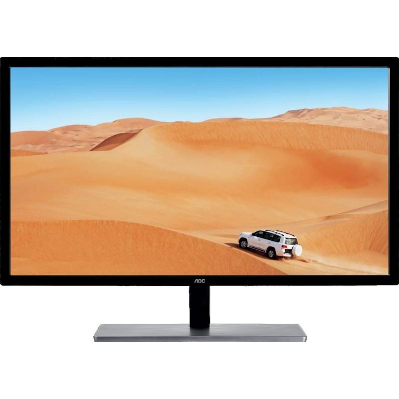 [해외] AOC ValueLine Q3279VWFD8 - PC 플랫 80cm (31.5) 와이드 쿼드 HD HD 매트 느와르 크란스 PC 플레이트