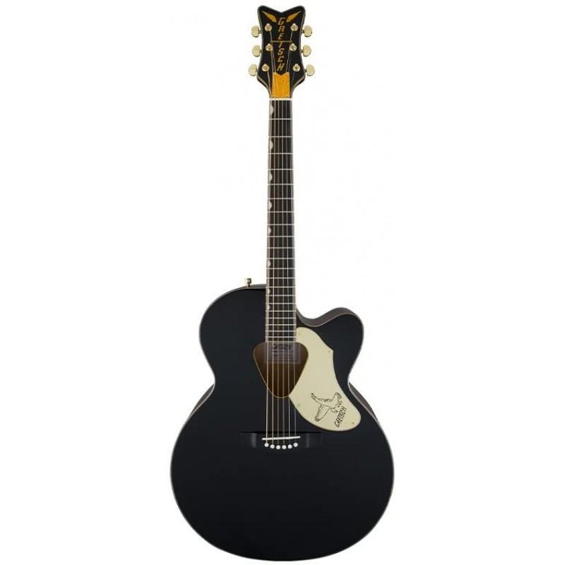 [해외] Gretsch Guitars G5022C 랜처 팰콘 컷어웨이 어쿠스틱-전기 기타 블랙: 악기