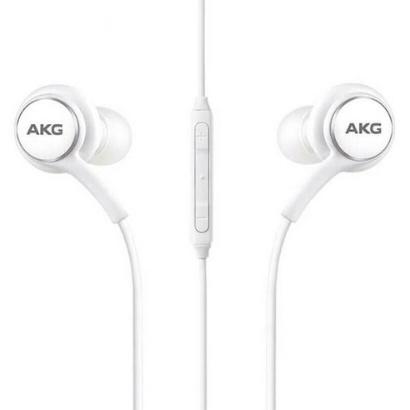 AKG 번들 호환용 스타일 3.5파이 유선 이어폰 갤럭시 S20 S10 5G 플러스 노트9 노트8 S8 S9 3.5mm EO-IG955 커널형 귀안아픈 마이크 이어폰[병행수입]