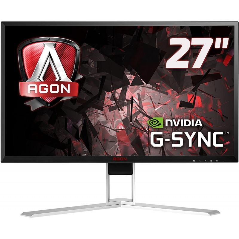 [해외] [독일직배송] AOC Ag271QG 68.58cm (27 인치) 모니터 (HDMI USB 허브 디스플레이 포트 4ms 응답 시간  단일옵션