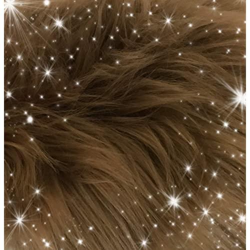 [해외] NMT Faux Fur Fabric Ultra Soft [Hazelnut Brown- 30x36 inches] - P003108CBVG73H2  Hazelnut Brown- 30x