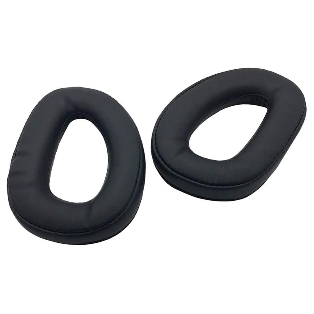 [해외] 젠하이저 GSP300 GSP301 GSP302 GSP303 GSP350 GSP370에 귀 패드 소프트 폼 헤드폰 이어 패드 이어 쿠션 커버  {크기:하나}  보여진 바와 같이