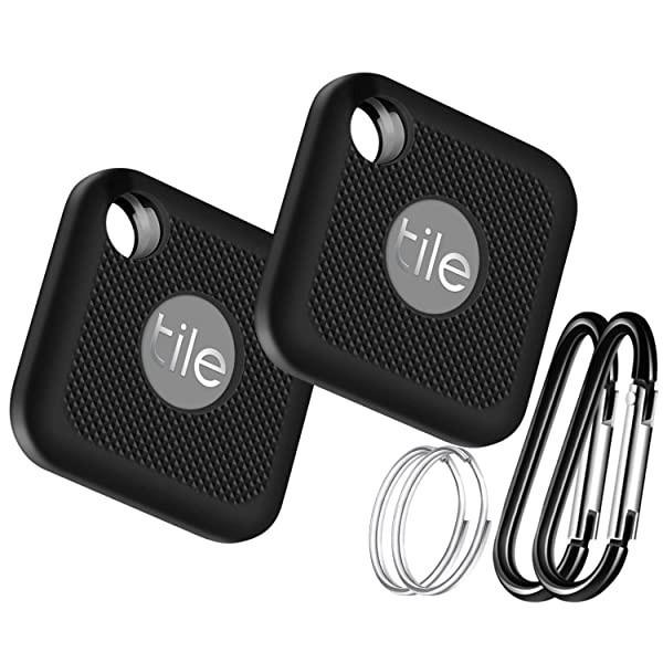 [해외] Silicone Case for Tile Pro (2020 & 2018)  2 Pack Cover Case Anti-Scratch Lightweight Soft Full Body
