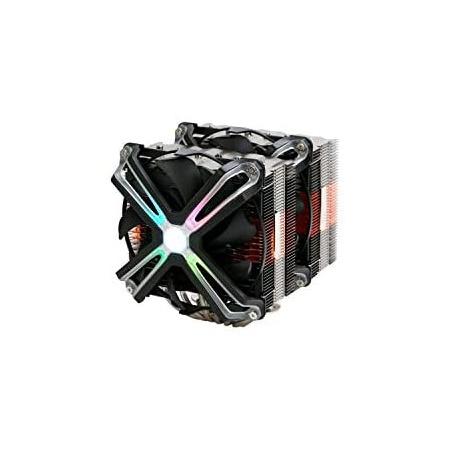 [해외] 일본정품 3. ZALMAN CNPS20X CPU 쿨러 IntelAMD 양쪽 FN1370 B0842C2914  {혼합색상:One Size_듀얼 팬 모델}  상세 설명 참조0  상세