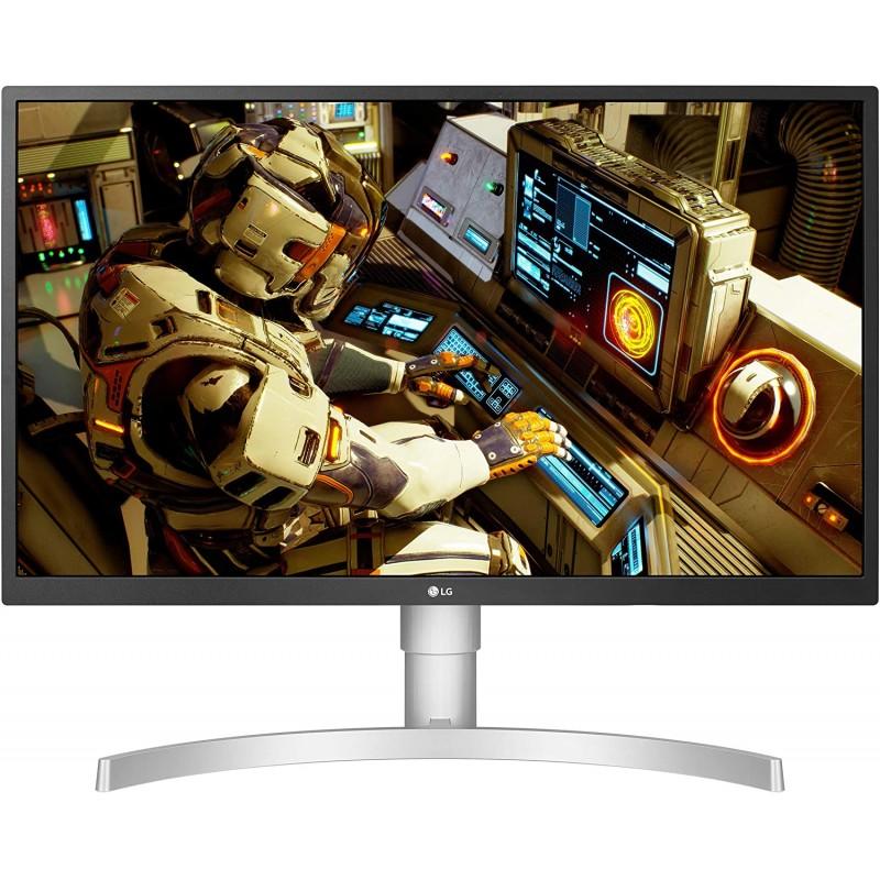 [해외] LG 27UL550-W Radeon Freesync 기술 및 HDR 10이 적용된 27인치 4K UHD IPS LED HDR 모니터 실버: 컴퓨