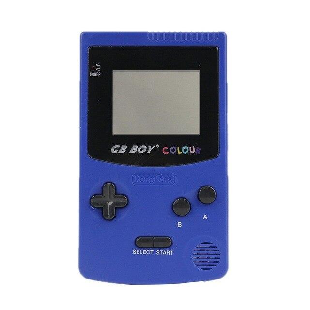 [해외] GB 보이 게임 클래식 컬러 컬러 게임 66 내장 포켓 비디오 레트로 휴대용 핸드 헬드 게임 플레이어 콘솔