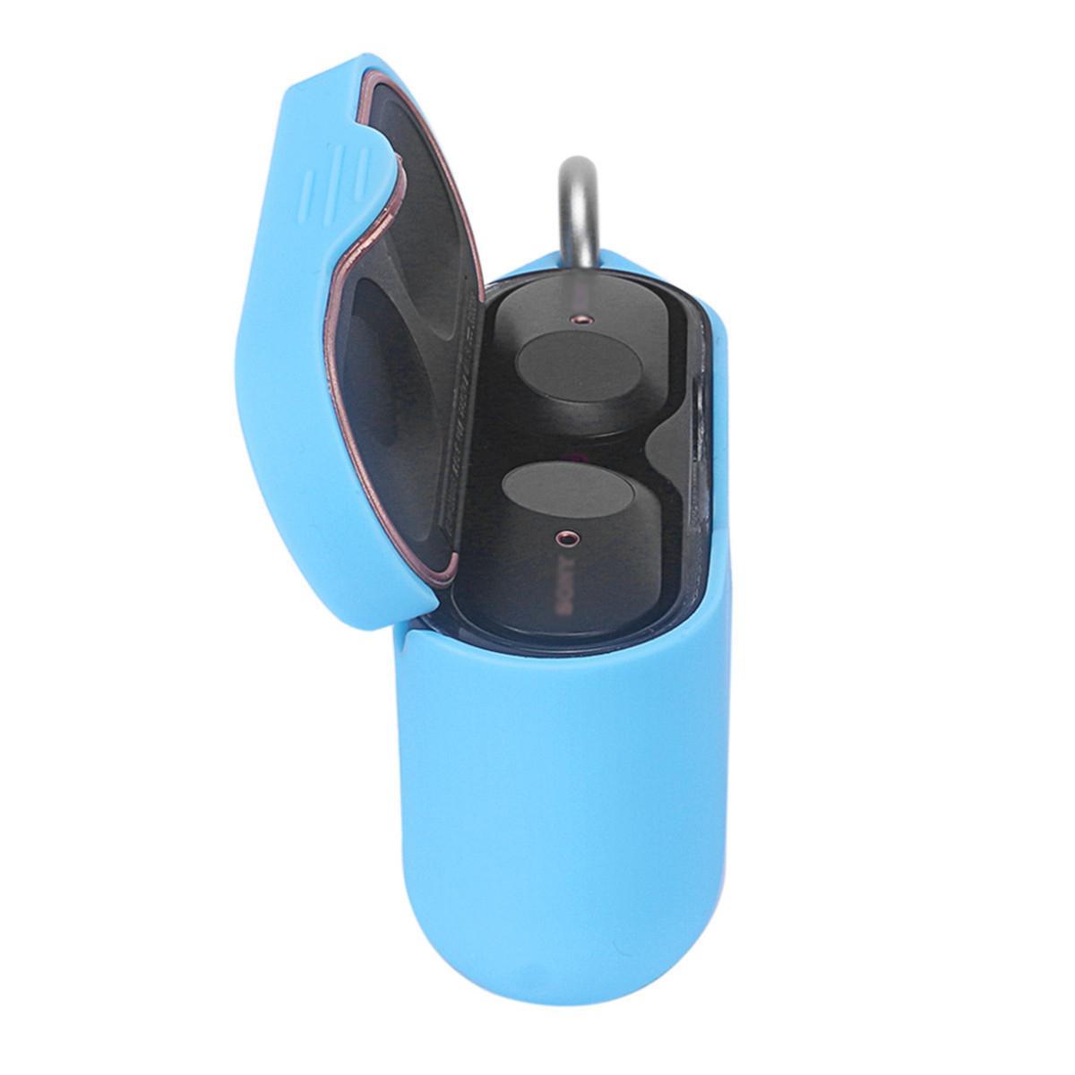 [해외] 무선 이어폰 케이스 실리콘 보호 케이스 커버 스킨 소니 WF 1000XM3 무선 이어폰 블루투스 헤드폰 이어폰