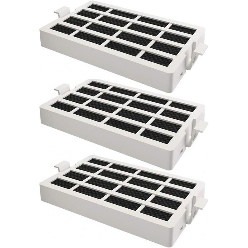 [해외] W1031524 및 AIR1 1876318 W10315189와 호환되는 교체형 냉장고 공기 필터 - 월풀 젠에어 키친에이드 및 메이태그(3-팩):  단일옵션