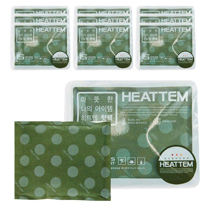 다봉산업 히트템그린(30개입) 패션핫팩 휴대용손난로 방한용품  30개